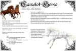 Camelot Horses by Percyvelle