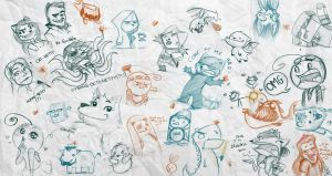 Scribbling With Netty 3. by ScribbleNetty