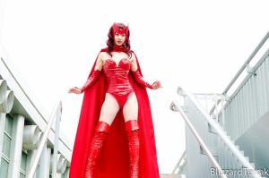 Scarlet Witch: Rooftop by vasher