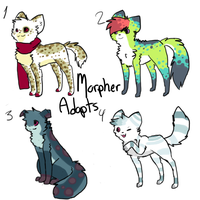 More morpher adopts! by Storm-adopts-13
