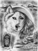 Red Riding Hood by TheSixBPencil