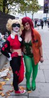 MCM Expo 2013 125 - Harley and Ivy by cosmicnut
