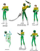 Multiverse Tommy Oliver the Green Rangers by Chen-Chan
