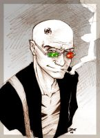 Tim Roth is Spider Jerusalem by beastboyjoe