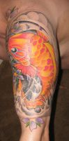 Koi Tattoo Sleeve Buddha 2 by jkrasher