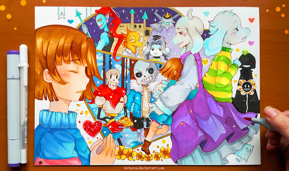 +Undertale+ by larienne