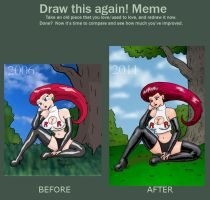 Draw This Again Meme by rocketdave