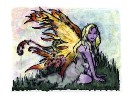 Faerie of the Ferns by phoenix-muse