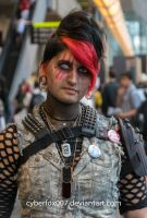 Apoctocyptic Punk close-up by cyberfox007