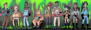 commission - Ghostbusters! by cigar-blues