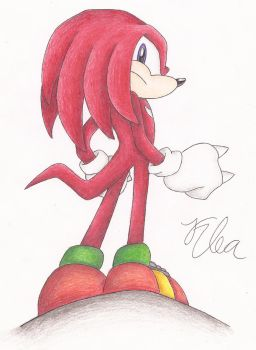 Knuckles by SonicBornAgain