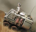 German 6-Wheel Scout Vehicle (fictional) 2 by Frohickey