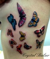 Butterfly Tattoo by IAteAllMyPaste