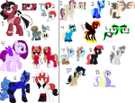 4/18 OPEN - Old characters that need to go by Br0kenP0nies
