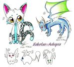 Mixed adopts 2 CLOSED by Zakelas--Adopts