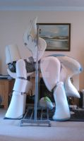 Nightmare Moon pieces part 2 WIP by MadHamsterCostumes