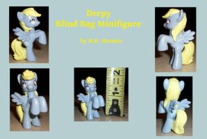 Custom Blind Bag Derpy Minifig by Gryphyn-Bloodheart