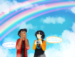 I Can't Even Capture It On My Camera by Kalu-Chan11