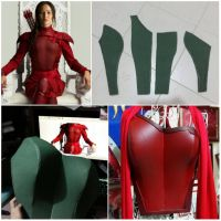 Quick Tutorial on Hunger Game armor by LadyAngelus