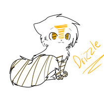 Drizzle (blackmoon's cousin) by MistyEm1101
