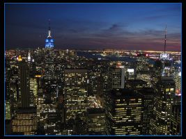 New York Skyline by Grouper