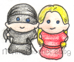 Super Chibi Princess Bride by MythicPhoenix