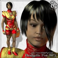Bridgette For SP3 by Childe-Of-Fyre