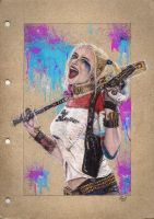 Harley Quinn by swiftlogix