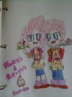 P and B CUPCAKES by FerzyPPGD