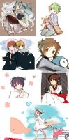 Sketch Dump by Hinausa