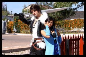 Squall and Rinoa by alsquall