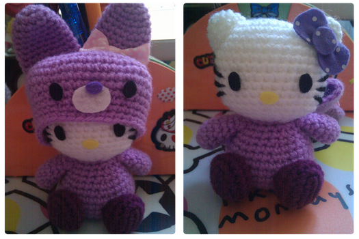 Hello Kitty bunny costume by phampyk