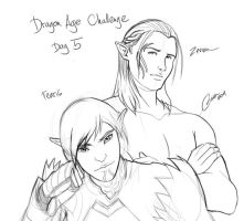 Dragon Age - Zevran or Fenris by madcoffee