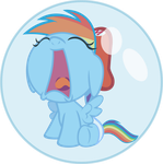 Baby Dashie by FinePrint-MLP