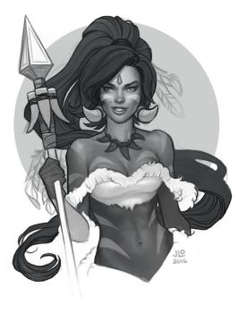 Nidalee by JessiBeans
