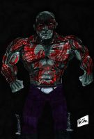 drax the destroyer by fernandochapado