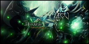 Hecarim Signature by xDeadWinter