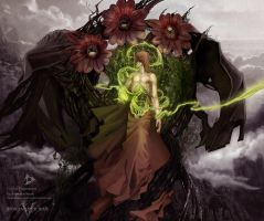 Dominance War V God by anastasiyacemetery