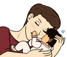 KLAINE Baby Got Your Nose by korychan