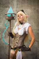 Hextech Janna League of Legends by IvrinielsArtNCosplay