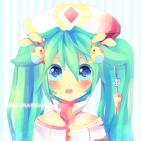 Miku Hatsune Warm by Yamio