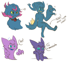 Pokeghosts by M-a-y-a-l
