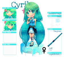 Minispris : CYRIL Stage 3 by Chisuimi
