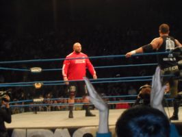 Bully Ray taunts Man U fans with LFC shirt by BLUE---WOLF