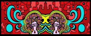 Congealed Twins by Poppyprincess23