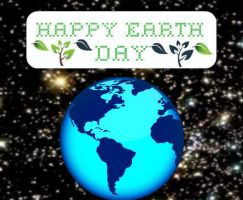 Support Earth day by hinsts