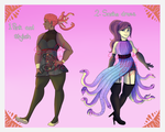 [OPEN] [AUCTION] Snake Ladies by SpaceOwlAdoptables