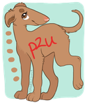 Borzoi puppy P2U by naida4