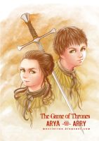 Game Of Thrones -  Arya Arry by Mexiletine