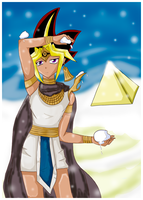 Snowing in Egypt by blue-sky-girl